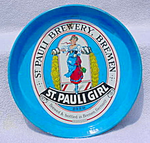 St. Pauli Brewery, Breman German Beer Tray (Image1)