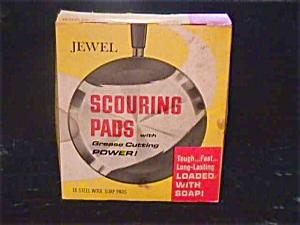 1960's Jewel Tea Scouring Pads w/Org. Box (Image1)