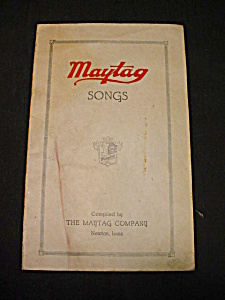 1940's Maytag Song Booklet (Image1)