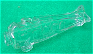 Older Airplane Glass Candy Container (Image1)