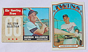 Harmon Killebrew Minnesota Twins Cards (Image1)