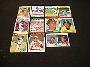 Rod Carew Baseball Card Collection (Image1)