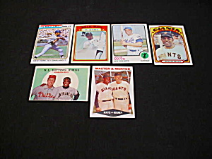 Willie Mays Baseball Cards (Image1)