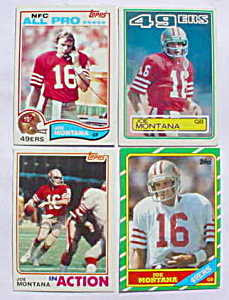 Joe Montana Football Cards (Image1)