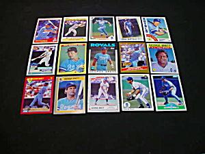 Kansas City Royal George Brett Baseball Cards (Image1)