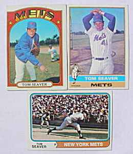 Tom Seaver Baseball Card Collection (Image1)