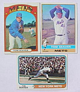 Tom Seaver Baseball Card Collection (Image1)