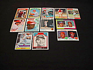 Johnny Bench Cincinnati Reds Baseball Cards (Image1)