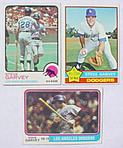 Steve Garvey L.A. Dodgers Baseball Cards (Image1)