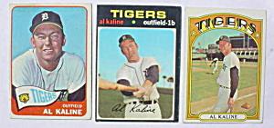Detroit Tigers Al Kaline Baseball Cards (Image1)