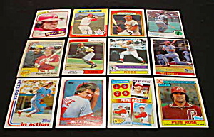 Pete Rose Baseball Cards (Image1)