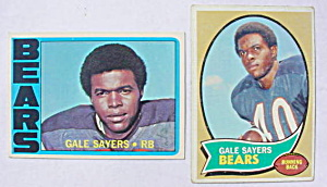 Gale Sayers Chicago Bears Football Cards (Image1)