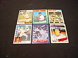 Dwight Evans Boston Red Sox Baseball Cards (Image1)