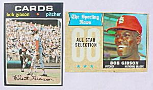 Bob Gibson St. Louis Cardinals Baseball Cards (Image1)