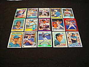 Dale Murphy Atlanta Braves Baseball Cards (Image1)