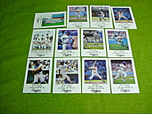 1981 Los Angeles Dodgers LAPD Card Set (Image1)
