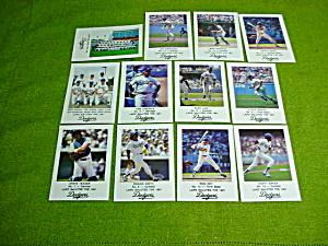 1981 Los Angeles Dodgers LAPD Card Set (Image1)