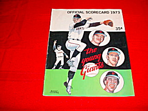 1973 San Francisco Giants Scorecard Book (Image1)
