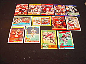 60's-80's San Francisco 49ers Football Cards (Image1)