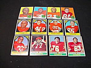 60's-80's Kansas City Chiefs Football Cards (Image1)