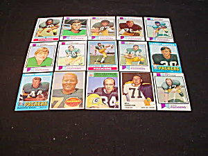 60's-80's Green Bay Packers Football Cards (Image1)