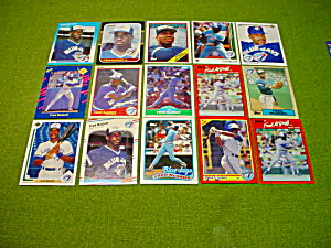 Fred McGriff Baseball Card Collection (Image1)