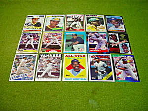 Dave Winfield Baseball Card Collection (Image1)