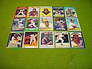 Tony Gwynn San Diego Padres Baseball Cards (Image1)