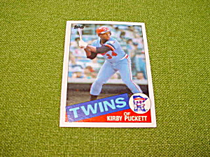 Kirby Puckett Minnesota Twins Baseball Cards (Image1)