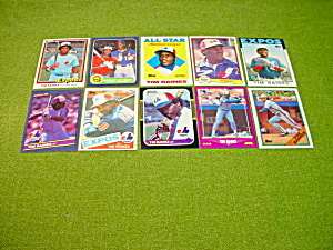 Tim Raines Baseball Card Collection (Image1)