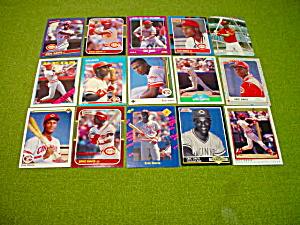Eric Davis Cincinnati Reds Baseball Cards (Image1)