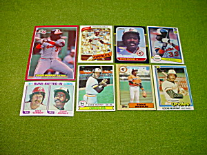 Eddie Murray Baltimore Orioles Baseball Cards (Image1)