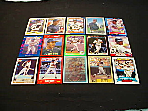 Barry Bonds Baseball Card Collection (Image1)