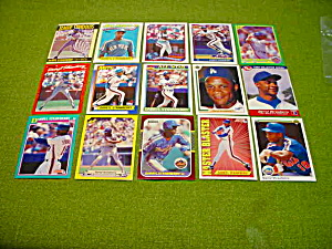 Daryl Strawberry Baseball Card Collection (Image1)