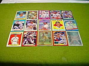 Wade Boggs Boston Red Sox Baseball Cards (Image1)