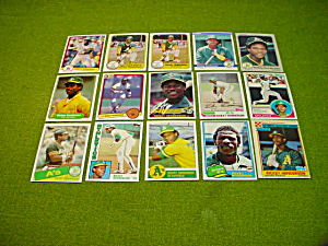 Lg. Rickey Henderson Baseball Card Collection (Image1)