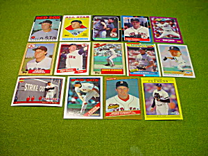 Roger Clemens Boston Red Soxes Baseball Cards (Image1)