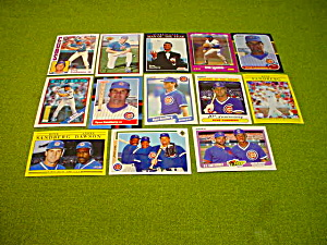 Ryne Sandberg Chicago Cubs Baseball Cards (Image1)