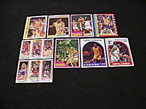 Magic Johnson Basketball Cards (Image1)