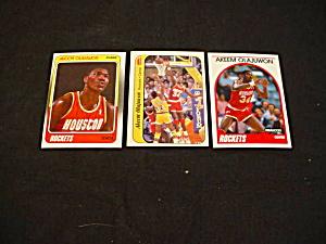 Akeem Olajuwon Basketball Cards (Image1)