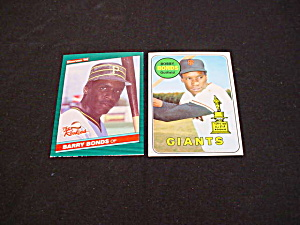 Barry Bonds & Bobby Bonds Rookie Cards (Image1)