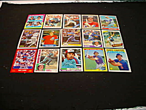 Gary Carter Baseball Cards (Image1)