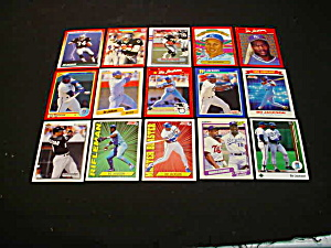 Bo Jackson Football & Baseball Cards (Image1)