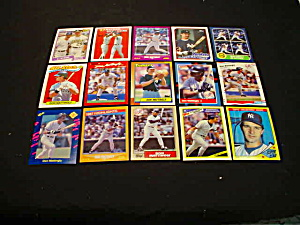 Don Mattingly Baseball Cards (Image1)