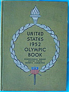 1952 United States Olympic Book (Image1)