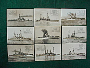 Collection Of U.S. Ship Postcards (Image1)