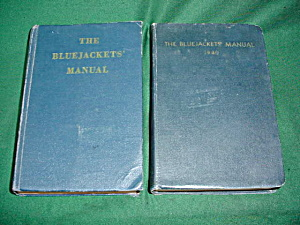 10th & 14th Eds. Bluejackets' Manuals (Image1)