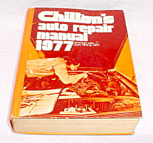 1977 Chilton Auto Repair Manual (Image1)