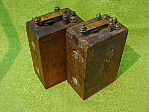 Pr. of Old Ford Battery Coils (Image1)