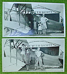 Pr. of Early Aviation Photos Pilot w/Family? (Image1)